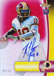 What Are the Top Selling Cards in 2012 Topps Finest Football? 10