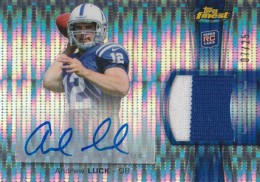 What Are the Top Selling Cards in 2012 Topps Finest Football? 8