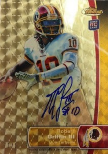 What Are the Top Selling Cards in 2012 Topps Finest Football? 1