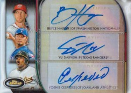 10 Hottest 2012 Topps Finest Baseball Cards 5