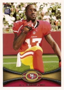 2012 Topps Football Variations Short Prints Guide 11