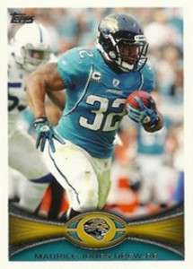 2012 Topps Football Variations Short Prints Guide 13