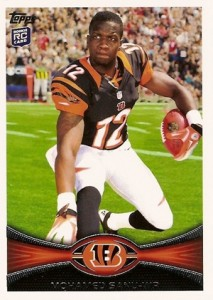2012 Topps Football Variations Short Prints Guide 20