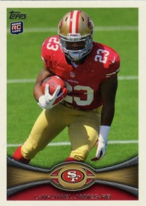 2012 Topps Football Variations Short Prints Guide 24