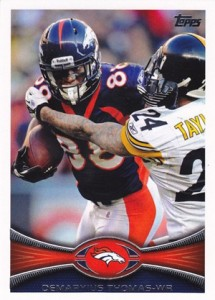 2012 Topps Football Variations Short Prints Guide 32
