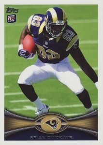 2012 Topps Football Variations Short Prints Guide 36
