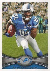 2012 Topps Football Variations Short Prints Guide 7