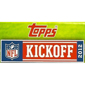 2012 Topps NFL Kickoff Checklist and Guide