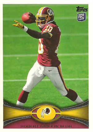 Robert Griffin III Rookie Cards and Autograph Memorabilia Guide 21