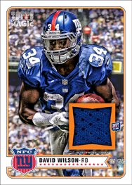 2012 Topps Magic Football Cards 9