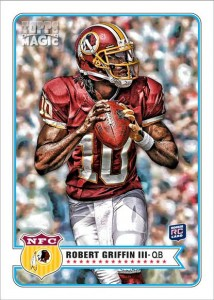 2012 Topps Magic Football Cards 5