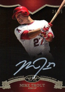 Ultimate Guide to Mike Trout Autograph Cards: 2009 to 2012 25