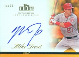 Ultimate Guide to Mike Trout Autograph Cards: 2009 to 2012 28