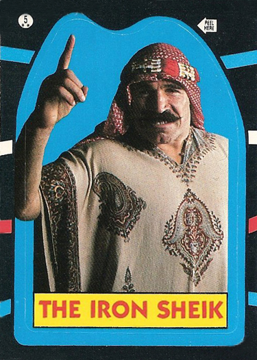 2012 Topps WWE Heritage Wrestling Cards 11