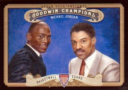 2012 Upper Deck Goodwin Champions Variation Shirt Prints 123 Michael Jordan