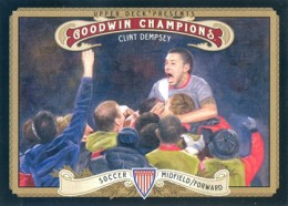 2012 Upper Deck Goodwin Champions Variation Short Prints Guide 6