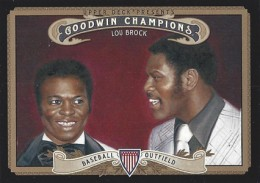 2012 Upper Deck Goodwin Champions Variation Short Prints Guide 9