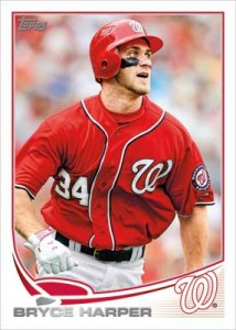 2013 Topps Baseball Base Card