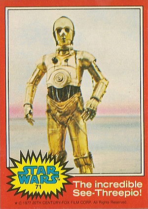 1977 Topps Star Wars Series 2 Trading Cards 21