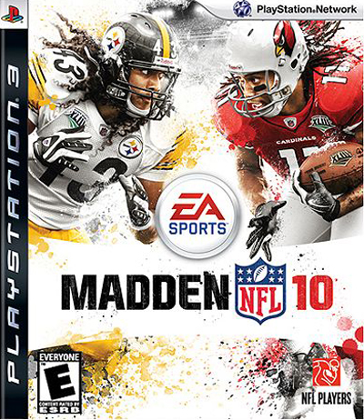 Madden NFL Covers - Madden NFL 10 PS3