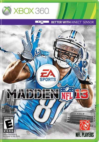 Madden NFL Covers - Madden NFL 13 Xbox 360