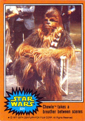 1978 Topps Star Wars Series 5 Card