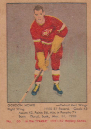1951-52 Parkhurst Hockey Cards 20