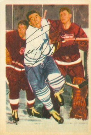 1953-54 Parkhurst Hockey Cards 20