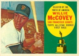 1960 Topps Willie McCovey RC