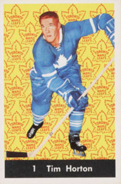 1961-62 Parkhurst Hockey Tim Horton