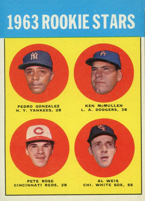 1963 Topps Pete Rose RC