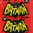1966 Topps Batman B Series Blue Bat Trading Cards