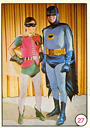 1966 Topps Batman Bat Laffs Trading Cards 19