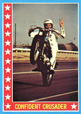 1974 Topps Evel Knievel Card
