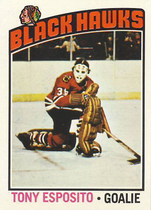 1976-77 Topps Hockey Tony Esposito