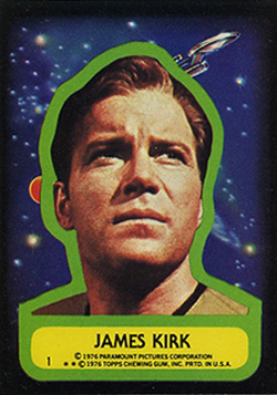 1976 Topps Star Trek Trading Cards 23