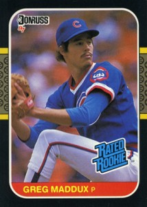Greg Maddux Cards, Rookie Cards and Memorabilia Guide 1