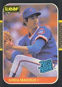 Greg Maddux Cards, Rookie Cards and Memorabilia Guide 3