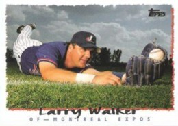 1995 Topps Baseball Larry Walker