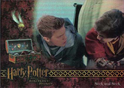 2005 Artbox Harry Potter and the Sorcerer's Stone Trading Cards 21