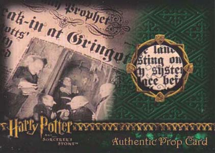 2005 Artbox Harry Potter and the Sorcerer's Stone Trading Cards 25