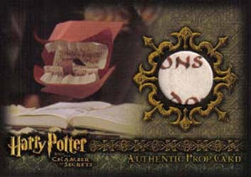 2006 Artbox Harry Potter and the Chamber of Secrets Trading Cards 27