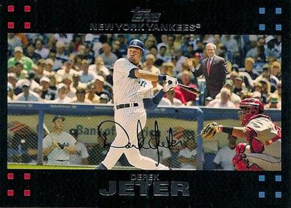2007 Topps Derek Jeter