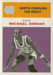 Michael Jordan Guide to 2011-12 Fleer Retro Basketball 12