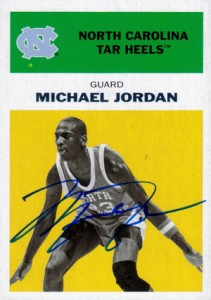 Michael Jordan Guide to 2011-12 Fleer Retro Basketball 16