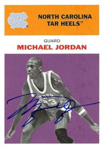 Michael Jordan Guide to 2011-12 Fleer Retro Basketball 17