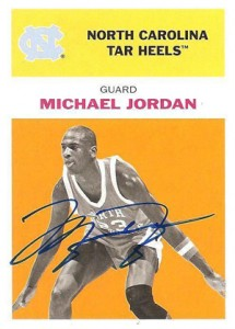 Michael Jordan Guide to 2011-12 Fleer Retro Basketball 18