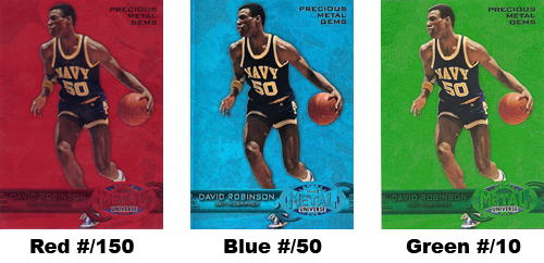 2011-12 Fleer Retro Precious Metal Gems Guide