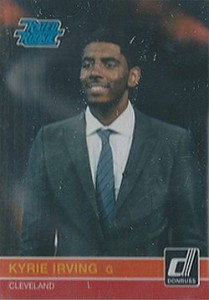 2011 Panini Rated Rookie Kyrie Irving K1