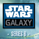 2011 Topps Star Wars Galaxy 6 Trading Cards